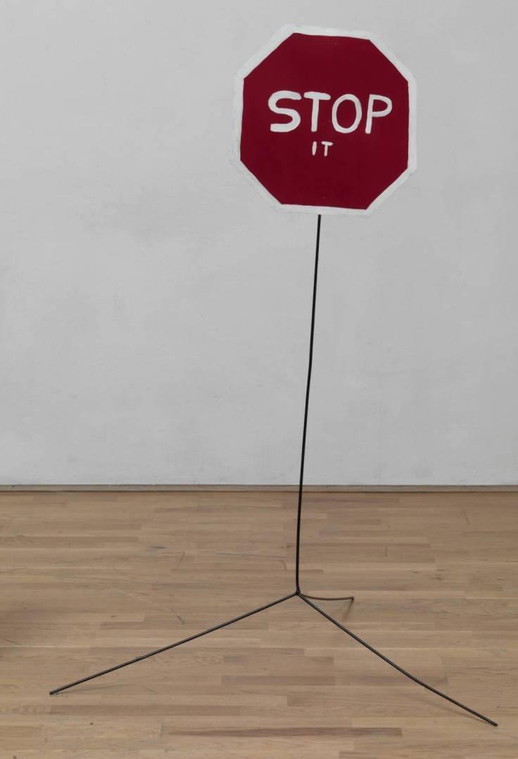 Stop It 2007 by David Shrigley born 1968